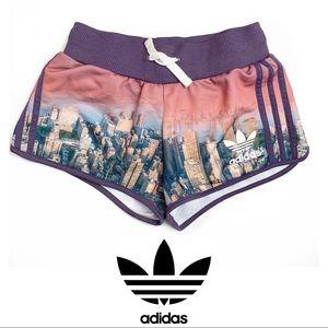Adidas New York Skyline Drawstring Shorts